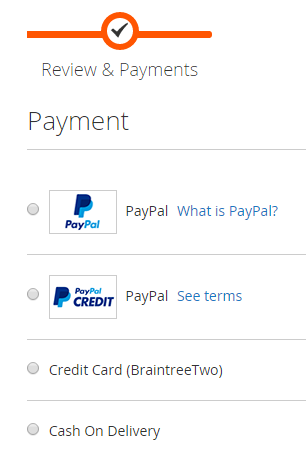 how to change payment method on paypal