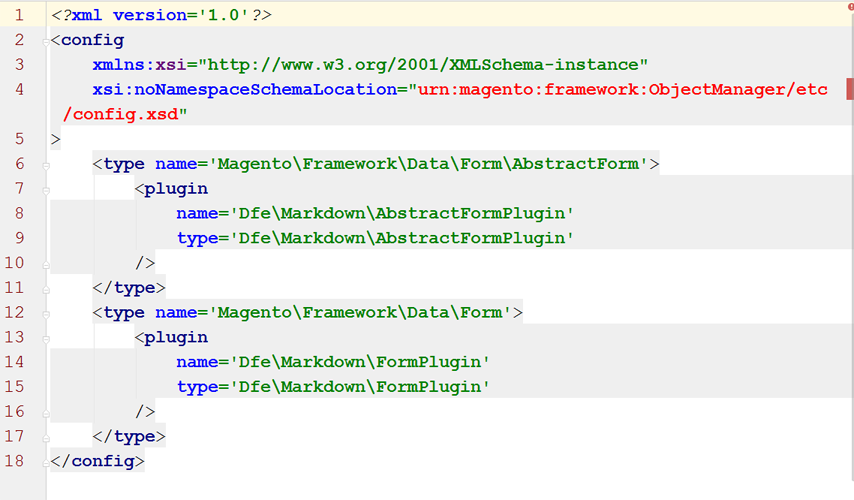 How to validate Magento 2 XML files with IntelliJ IDEA or