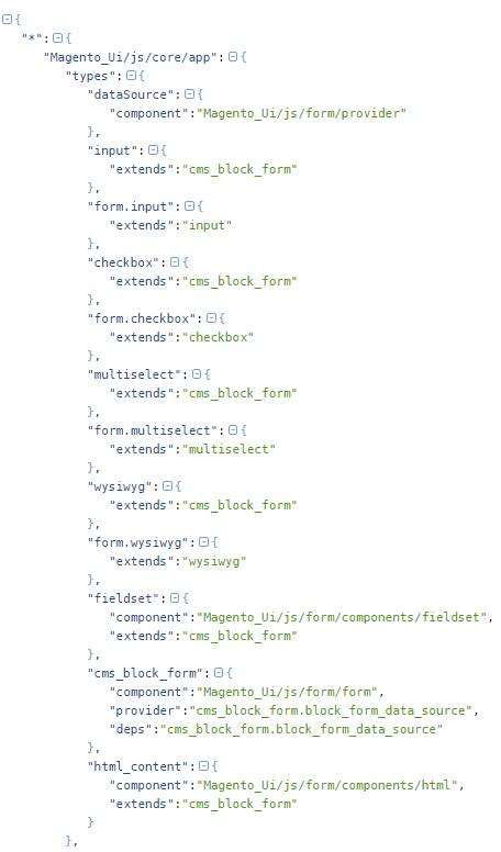 How does Magento_Ui/js/core/app works - Magento 2