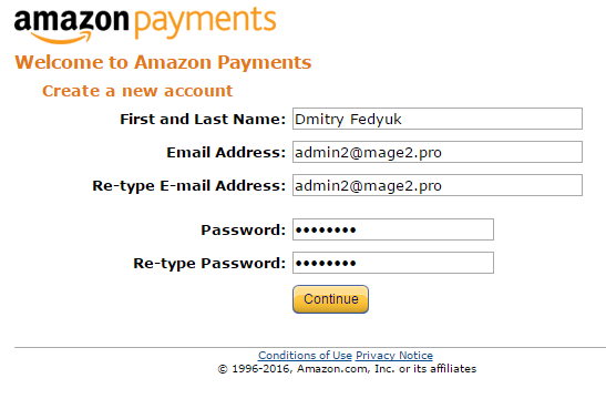 How to create an Amazon Seller account for Amazon Payments