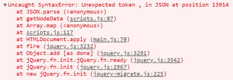 How to fix the «Unexpected token , in JSON» issue with the