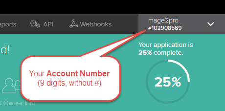 2Checkout] What is my Account Number? - Magento 2